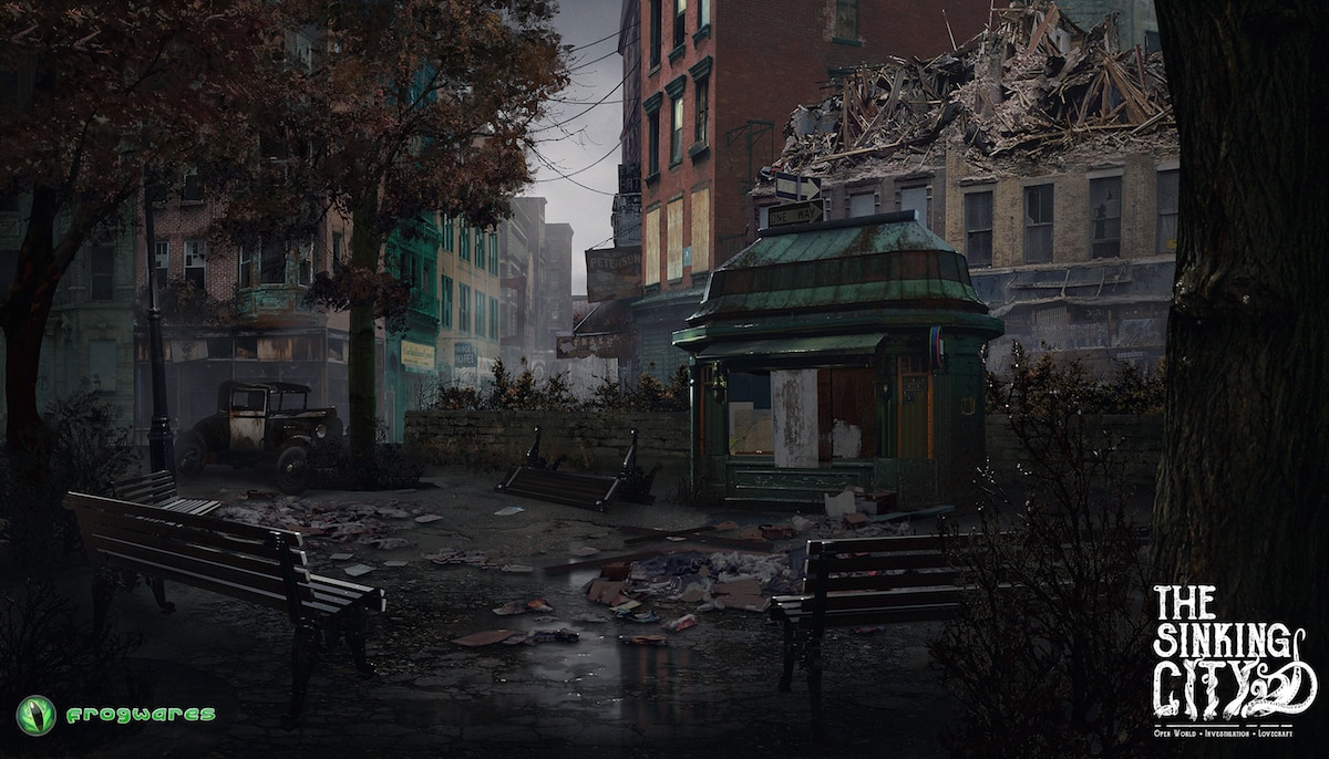 thesinkingcity Oakmont Street Exclusive - Lovecraft-Inspired Investigative Adventure Game The Sinking City Locks Down Publisher