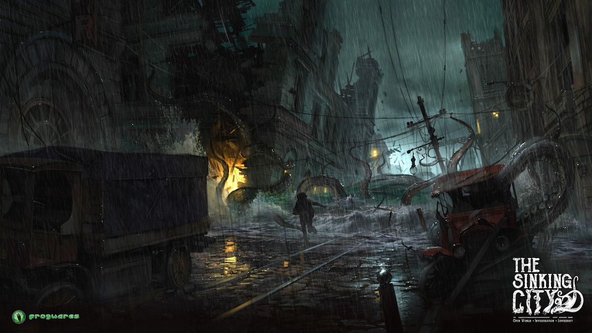 thesinkingcity The Flood is Coming - Lovecraft-Inspired Investigative Adventure Game The Sinking City Locks Down Publisher