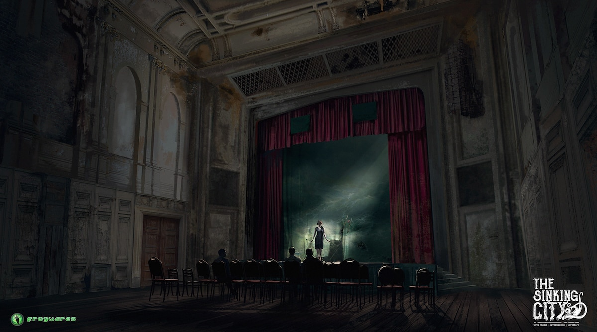 thesinkingcity Theater Interior - Lovecraft-Inspired Investigative Adventure Game The Sinking City Locks Down Publisher
