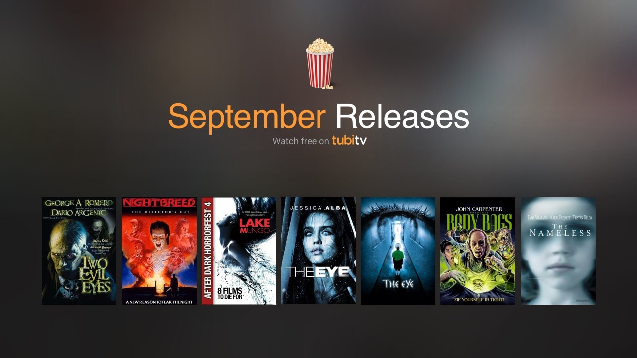 tubi September - Tubi TV Terrors – September 2017