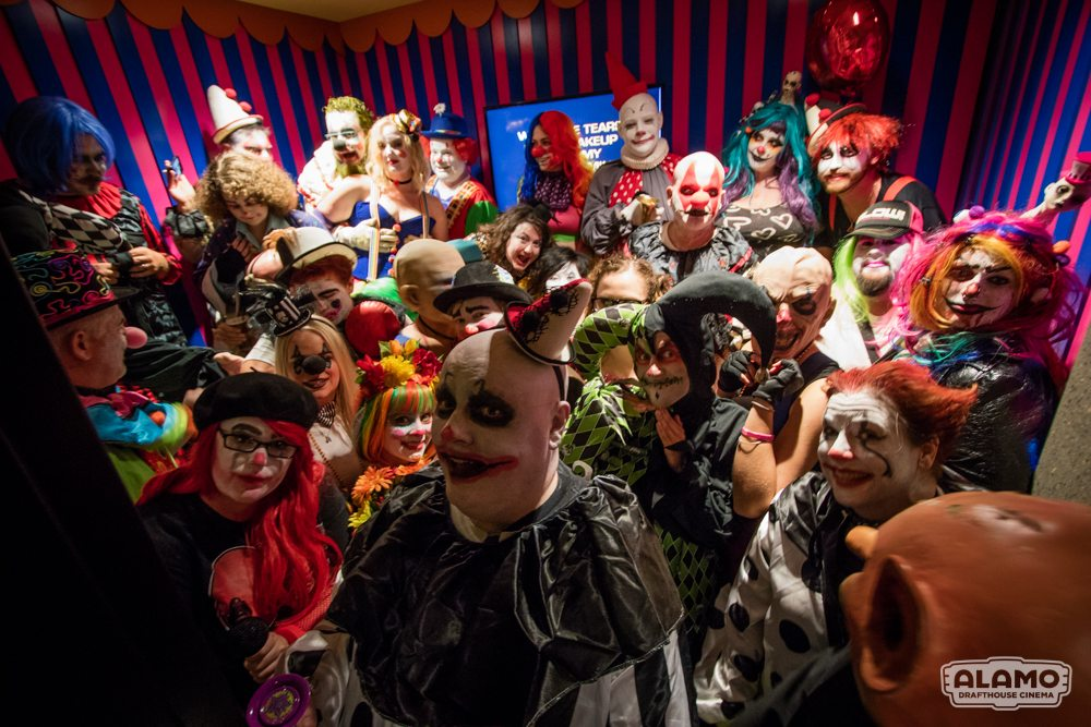 All Clwon screening IT Alamo Cedars 102 - Event Report: Clowns Invade the Alamo Drafthouse for IT