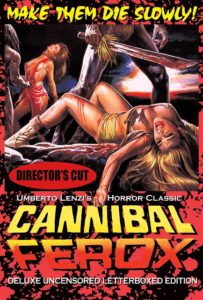 Cannibal Ferox Directors Cut 1981 203x300 - DVD and Blu-ray Releases: September 26, 2017