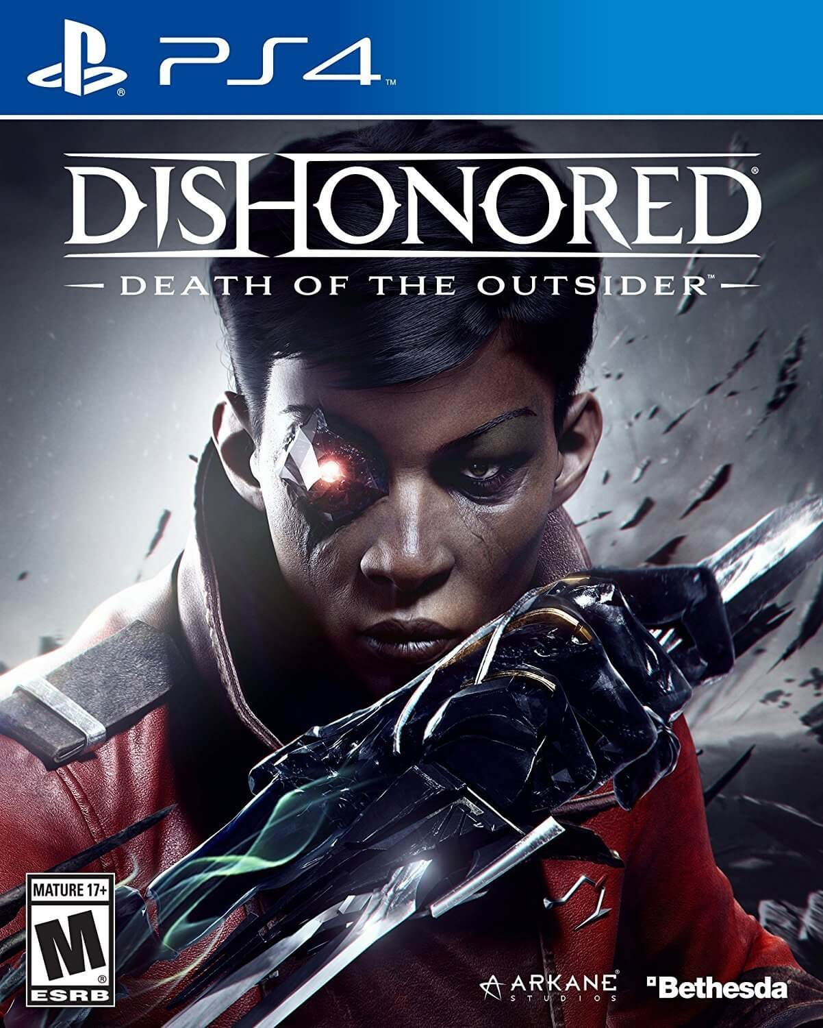 Dishonored Death of the Outsider cover 1 - Dishonored: Death of the Outsider Launch Trailer Leaves Bloody Death in its Wake