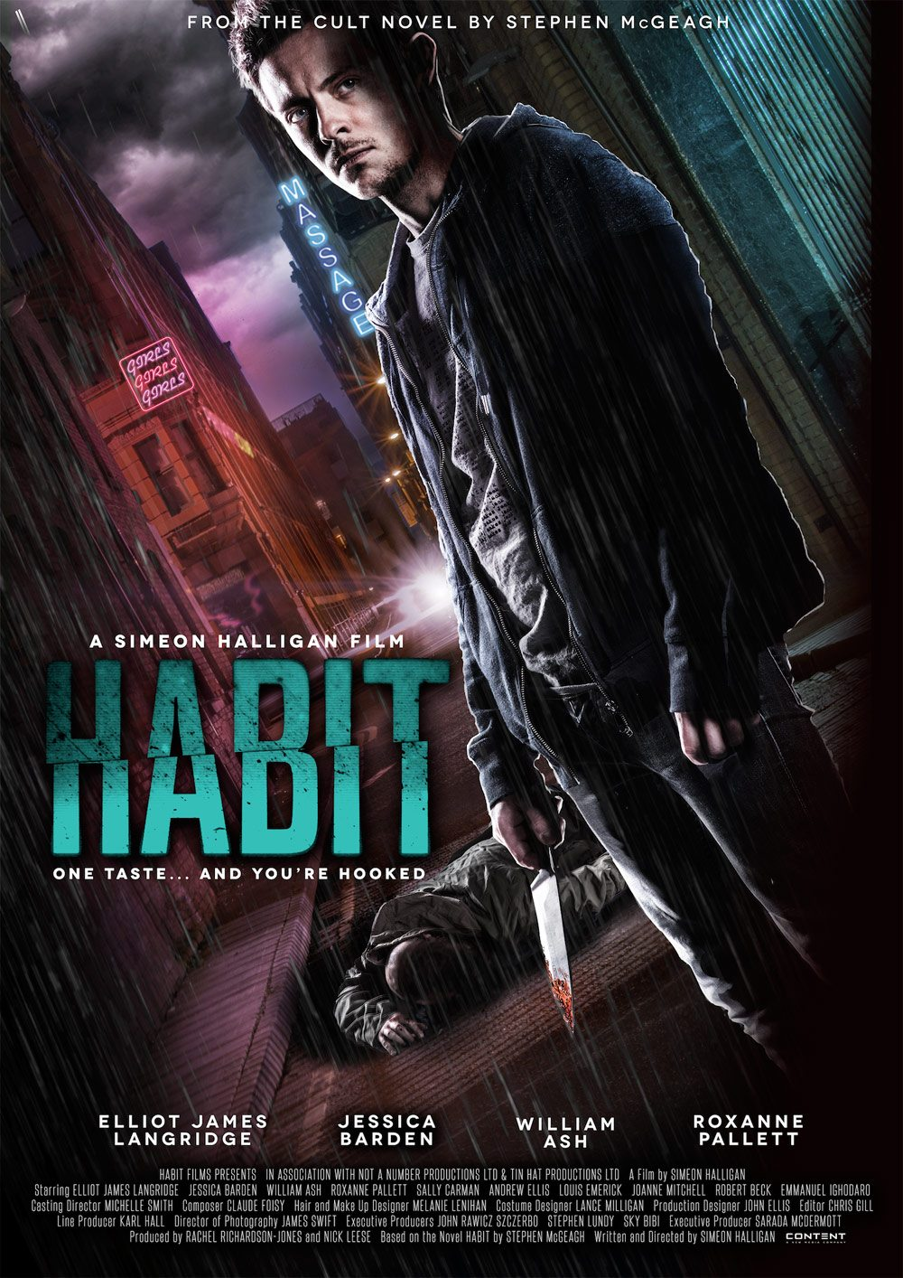 HABIT POSTER - Exclusive First Look at the Habit Trailer; New Poster, Stills, and More!