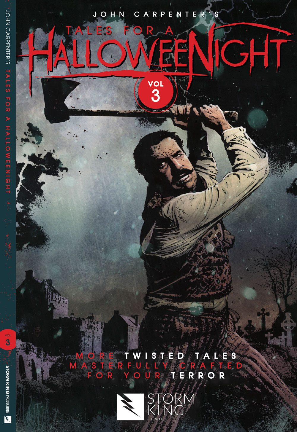 JCHN V3 RegCover FINALwSpine - Win a Copy of John Carpenter's Tales for a HalloweeNight Vol. 3