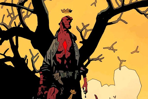 RCCC17HELLBOYHARVEYRELIEFPRINTI 033339 s - Attn: Rose City Comic Con Attendees; Limited Edition Hellboy Print Available to Benefit the Houston Food Bank