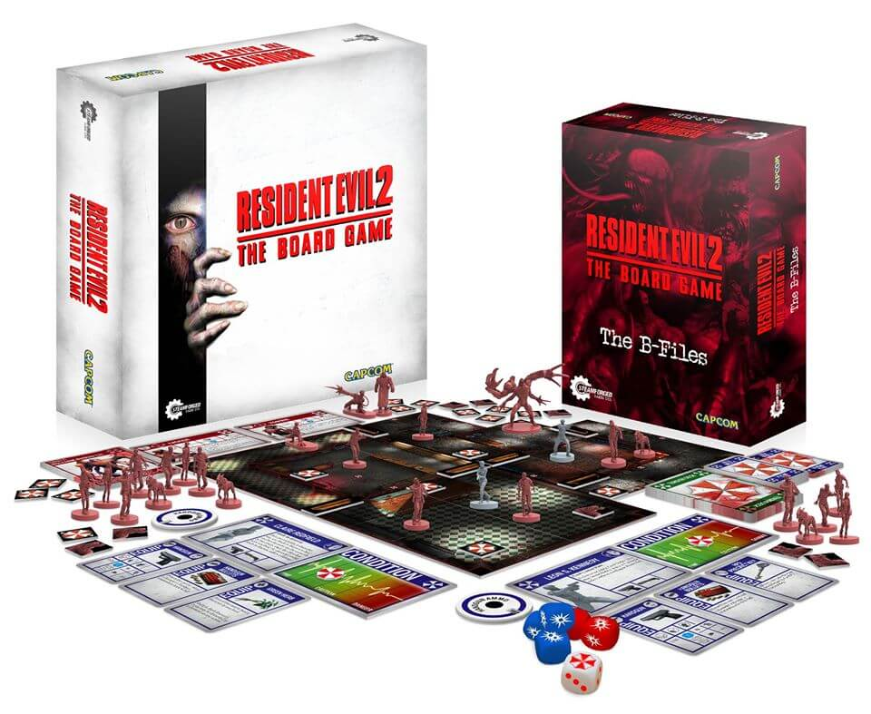 Resident Evil 2 Board Game box 1 - Resident Evil 2: The Board Game Smashes Its Kickstarter Goal in One Hour