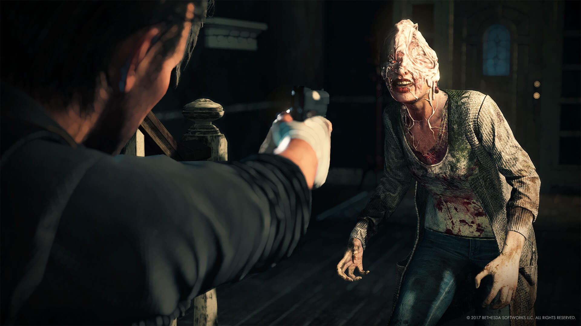 The Evil within 2 combat screenshot 1 - The Evil Within 2 Gameplay Videos Surface; Switch Version a Possibility