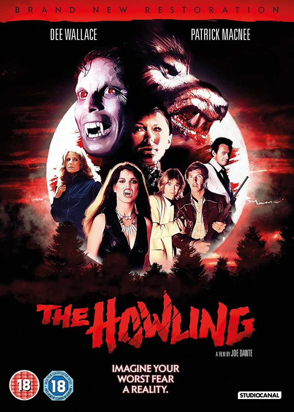 The Howling UK DVD