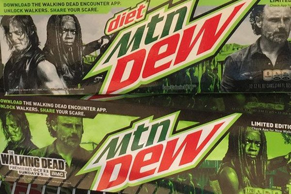 amc mountaindew s - AMC and Mountain Dew Team for The Walking Dead Encounter Augmented Reality App