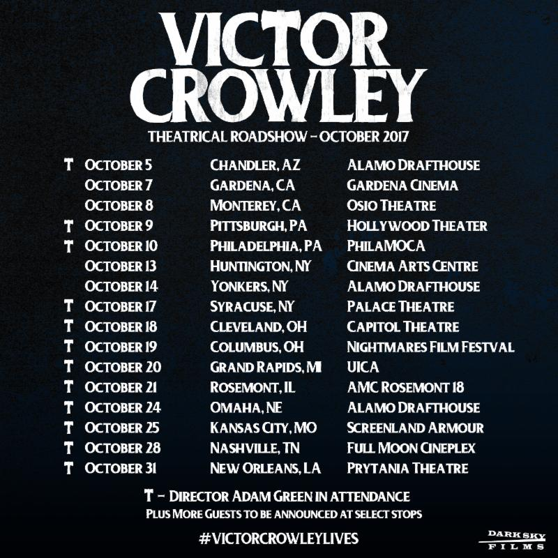 Victor Crowley Tour