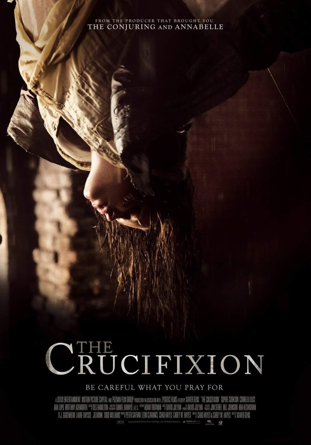 crucifixion poster 3 - The Crucifixion: This Exclusive Clip Is an Eyeful!