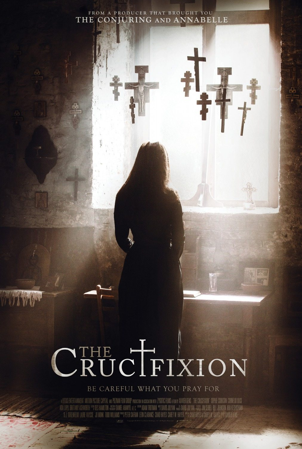 crucifixion poster - The Crucifixion: This Exclusive Clip Is an Eyeful!