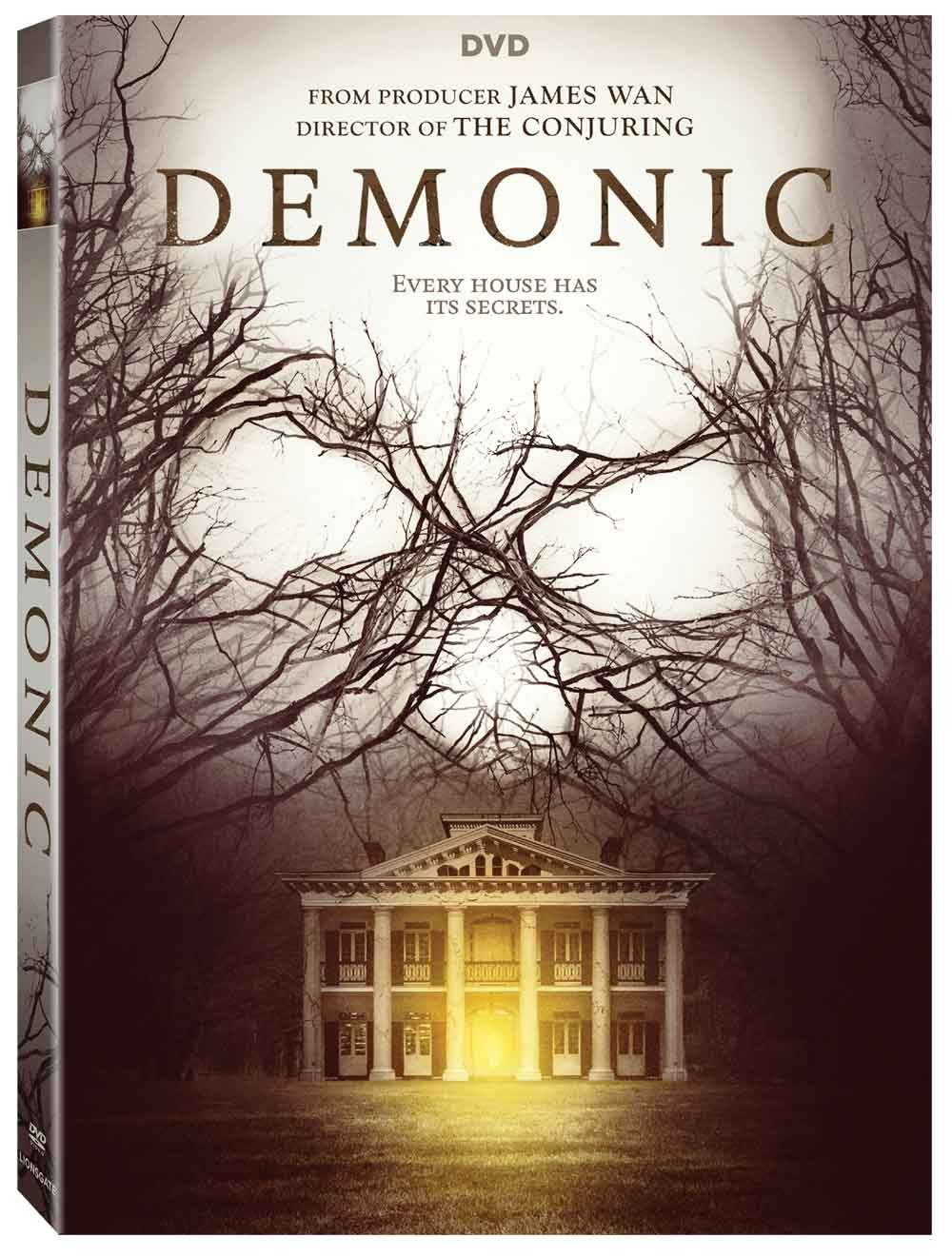demonic dvd - Lionsgate Dishes Details on Demonic, Mind Blown, and Slaughter High