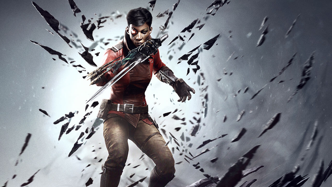 dishonored death of the outsider 1 Billie Lurk sword 1 - Dishonored: Death of the Outsider Launch Trailer Leaves Bloody Death in its Wake