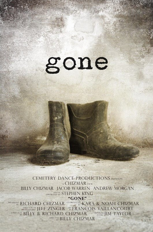 gone 1 - Short Film Gone Featuring Stephen King Set to Premiere at Edmonton Festival of Fear