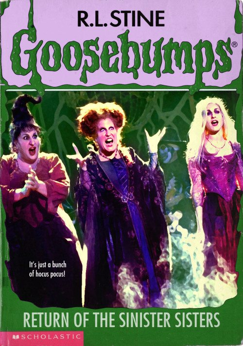 goosebumpsalternate 1 - Horror Movies and Video Games Get the Goosebumps Cover Treatment