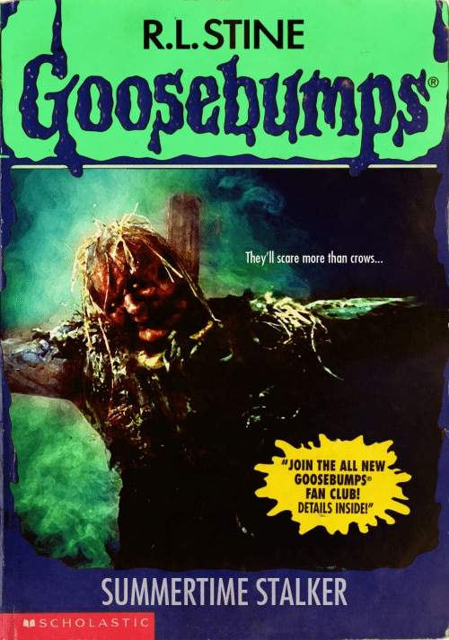 horror movies and video games get the goosebumps cover