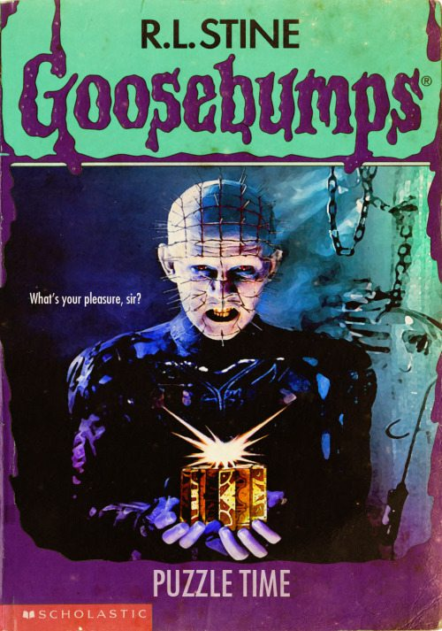 goosebumpsalternate 14 - Horror Movies and Video Games Get the Goosebumps Cover Treatment
