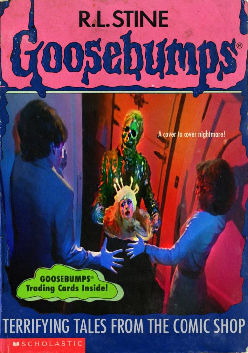 goosebumpsalternate 15 - Horror Movies and Video Games Get the Goosebumps Cover Treatment