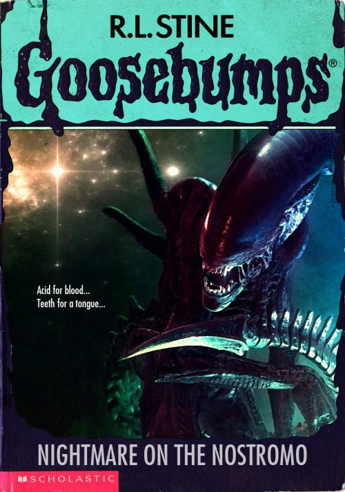 goosebumpsalternate 16 - Horror Movies and Video Games Get the Goosebumps Cover Treatment