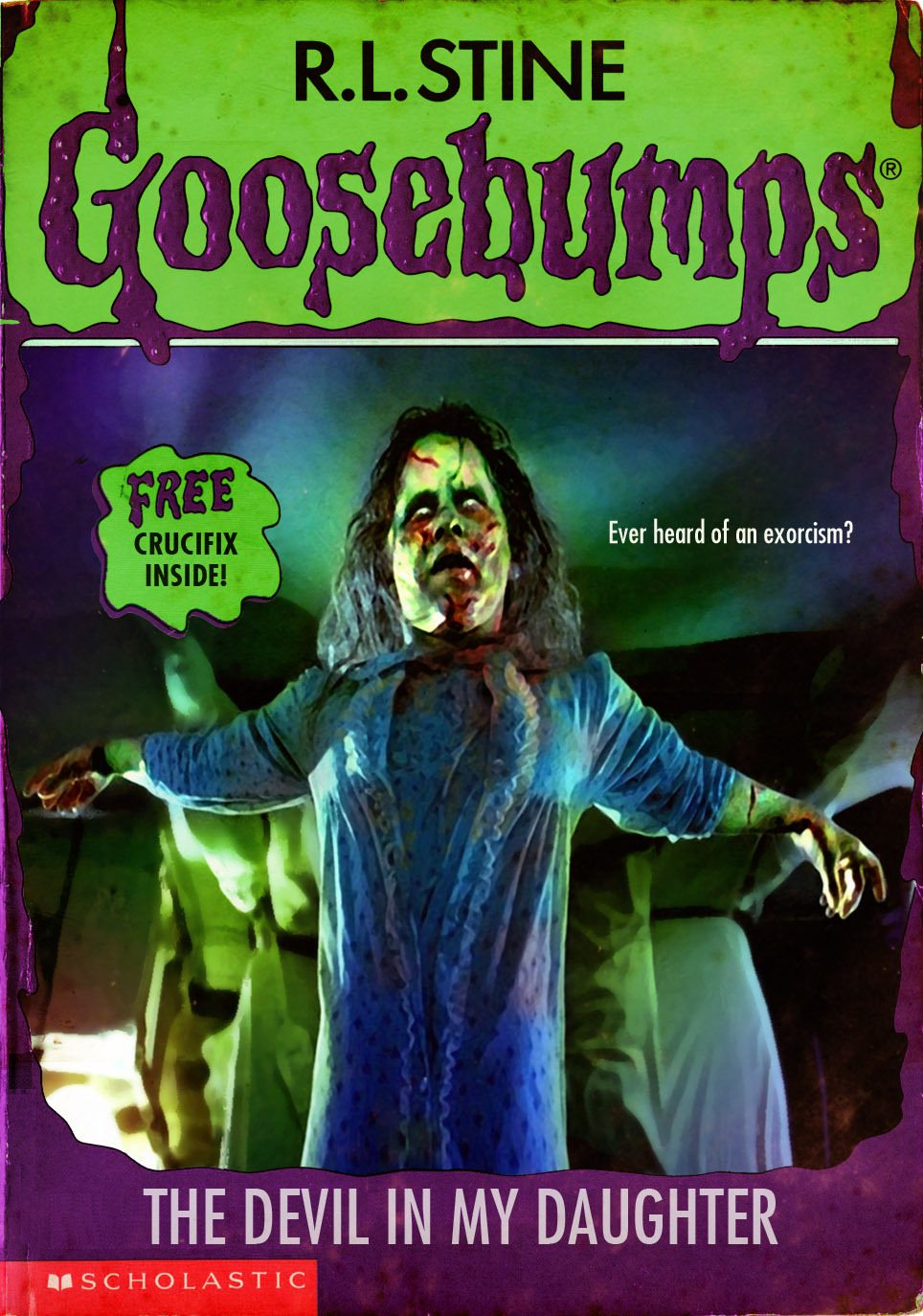 goosebumpsalternate 17 - Horror Movies and Video Games Get the Goosebumps Cover Treatment