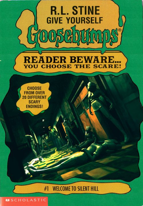 goosebumpsalternate 3 - Horror Movies and Video Games Get the Goosebumps Cover Treatment