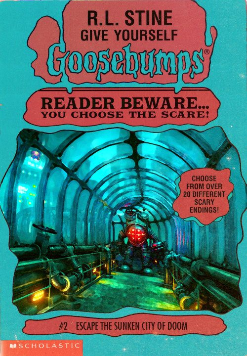 goosebumpsalternate 4 - Horror Movies and Video Games Get the Goosebumps Cover Treatment