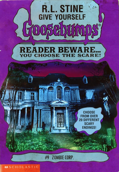 goosebumpsalternate 6 - Horror Movies and Video Games Get the Goosebumps Cover Treatment