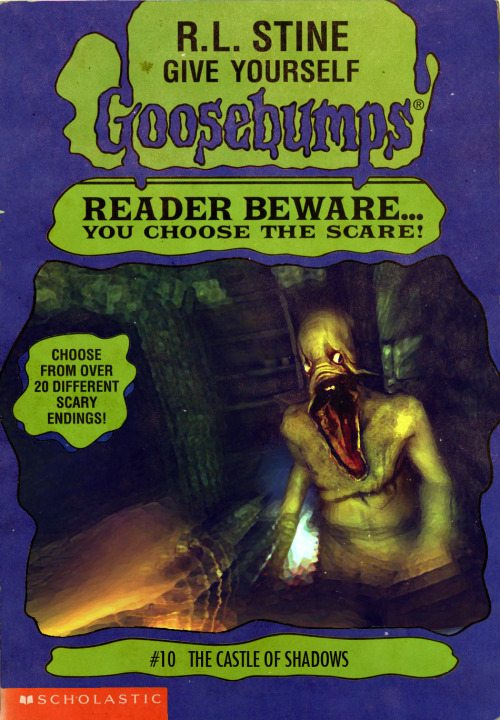 goosebumpsalternate 7 - Horror Movies and Video Games Get the Goosebumps Cover Treatment