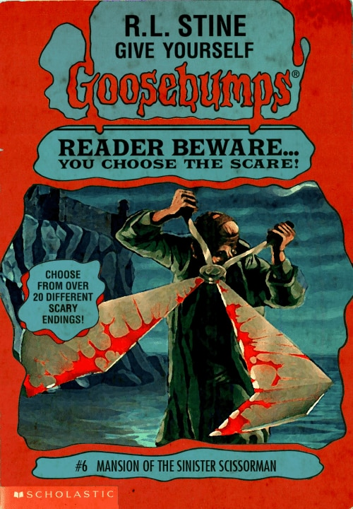 goosebumpsalternate 8 - Horror Movies and Video Games Get the Goosebumps Cover Treatment