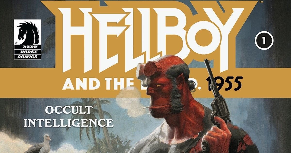 hellboy1955banner - Exclusive: Enter the Occult Cold War in This New Hellboy Miniseries