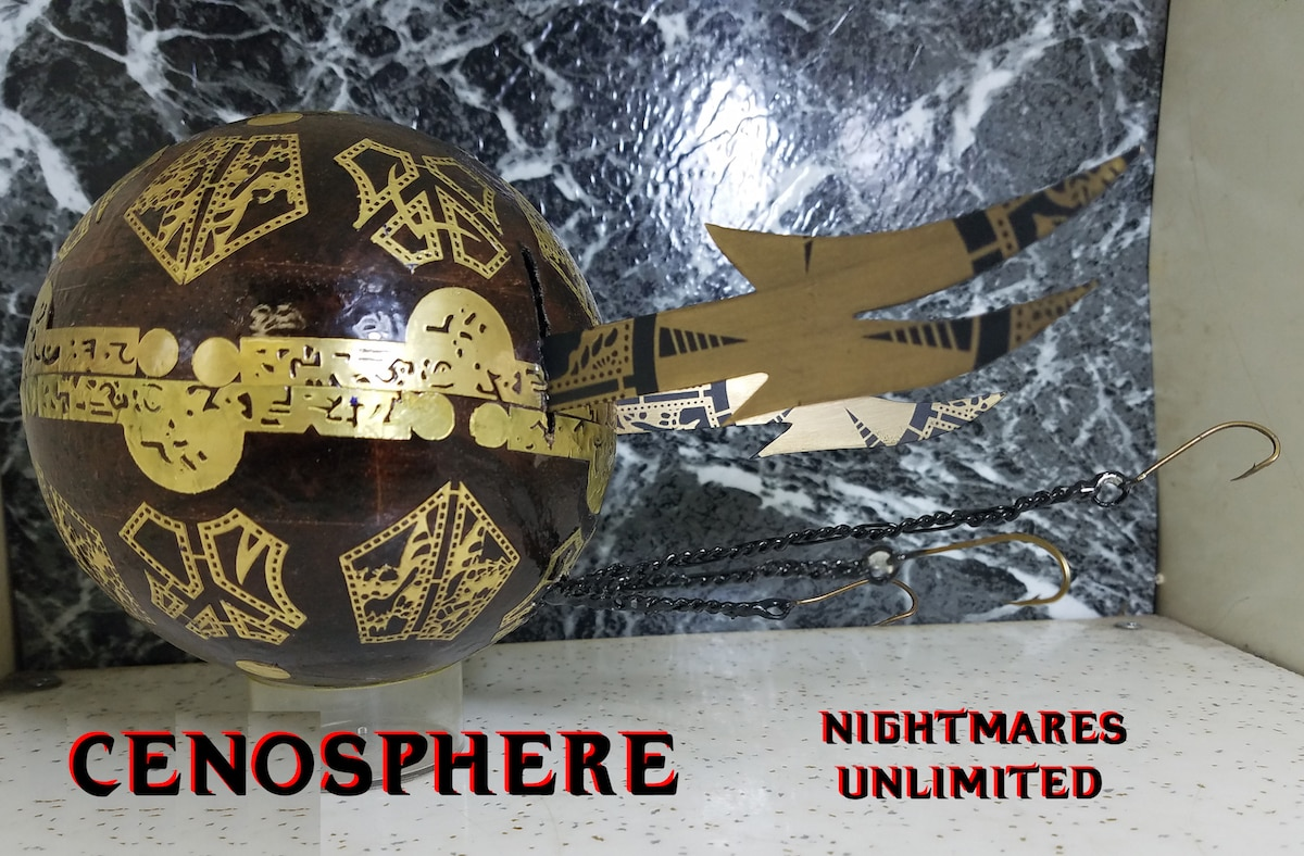 hellsphere2 - Exclusive: Nightmares Unlimited Creates Collab Piece That Mixes Hellraiser and Phantasm!