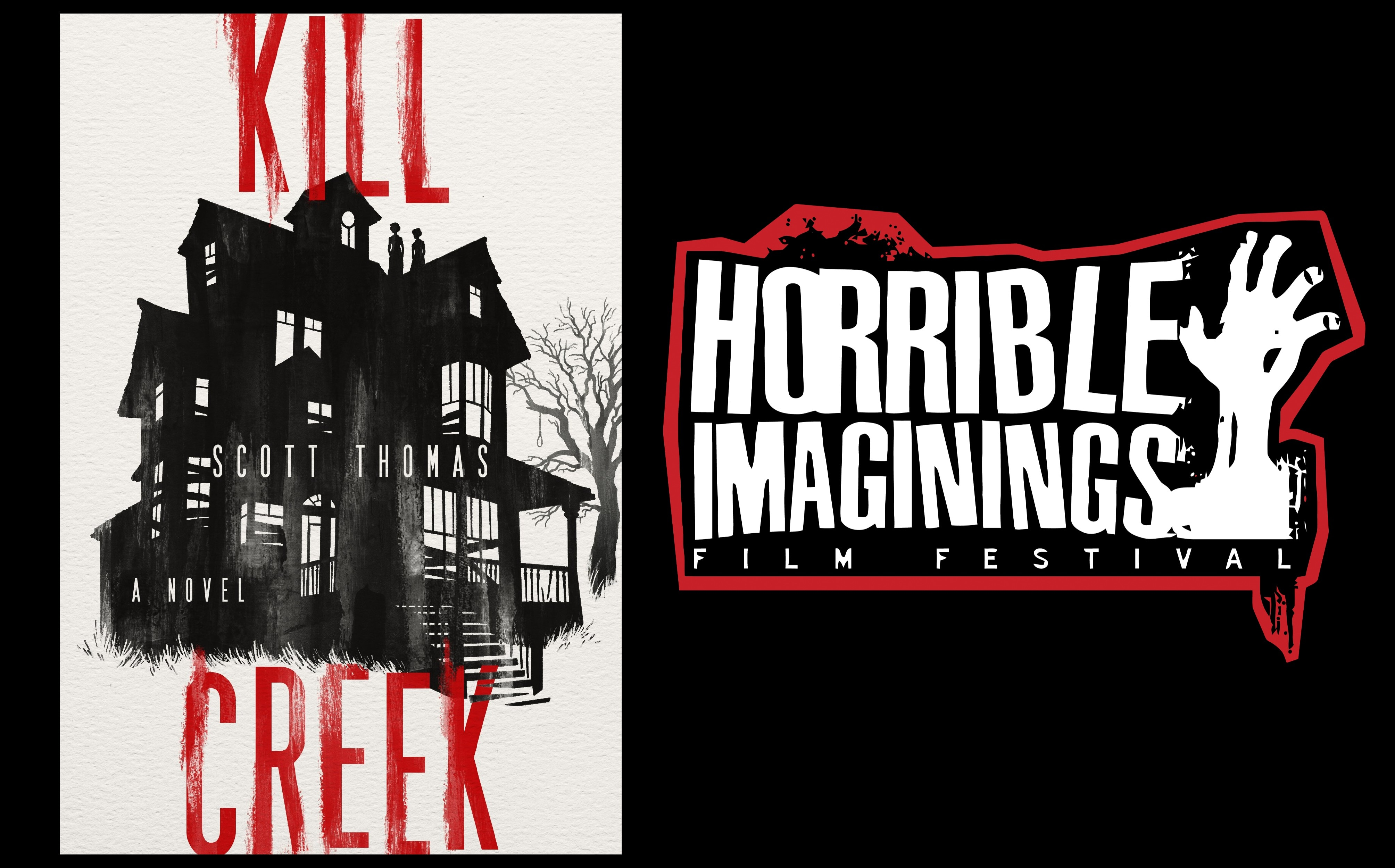 kill creek podcast - Horrible Imaginings Podcast #178: Start Halloween Season Right with Kill Creek Author Scott Thomas!