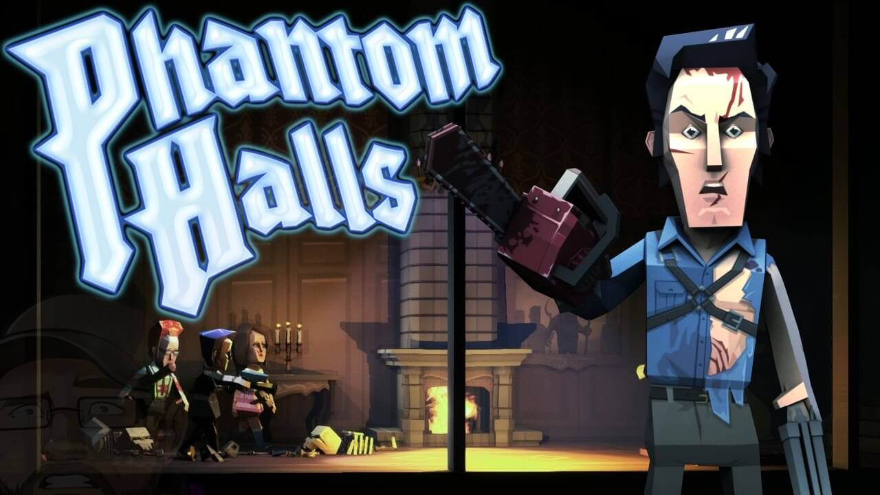 phantom halls ash williams chainsaw 1 - Ash Kills Paper Deadites in Phantom Halls' Latest Evil Dead II Update