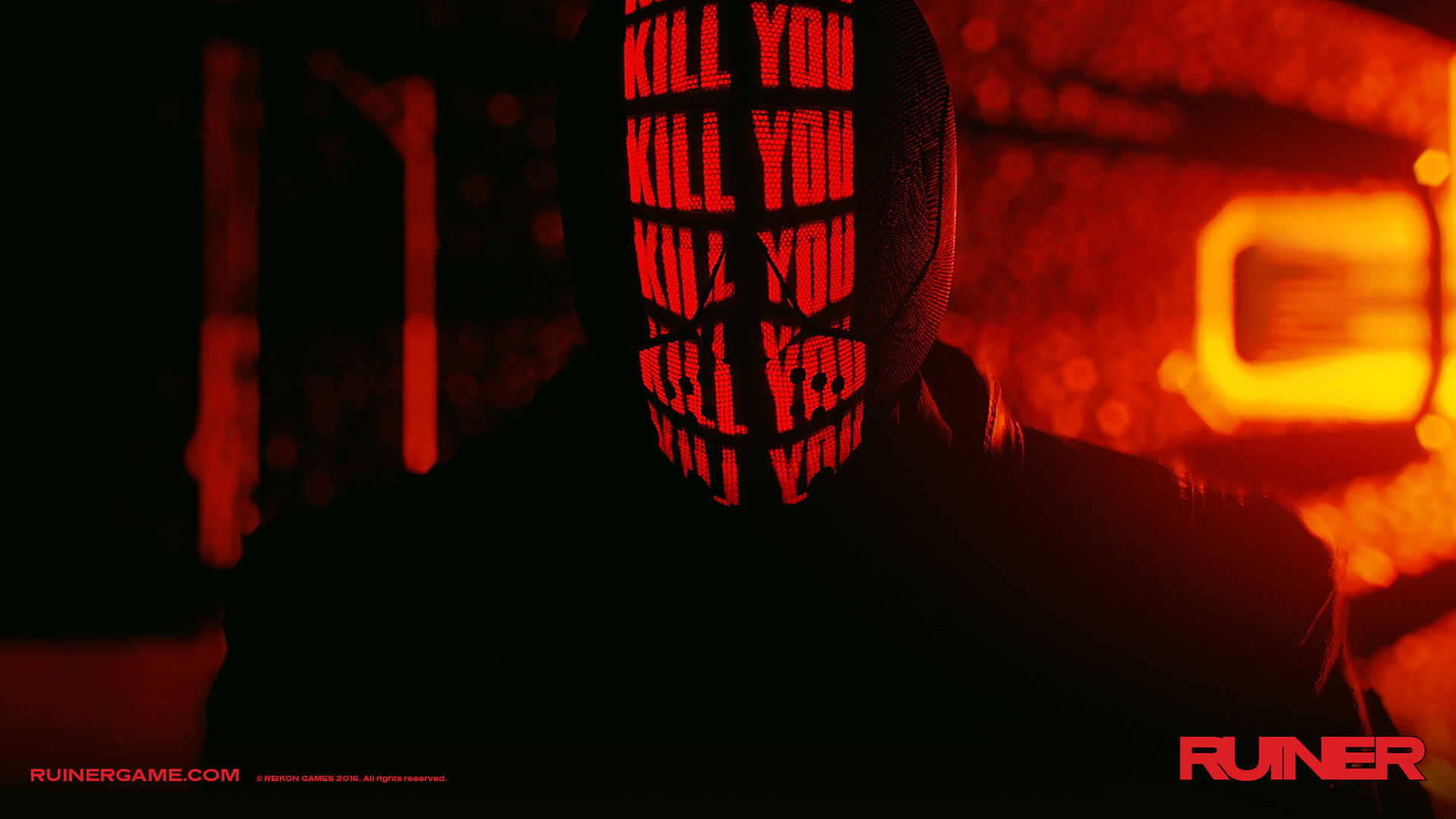 ruiner game devolver digital 1 - Brutal Cyberpunk Game Ruiner Launches on Consoles and PC