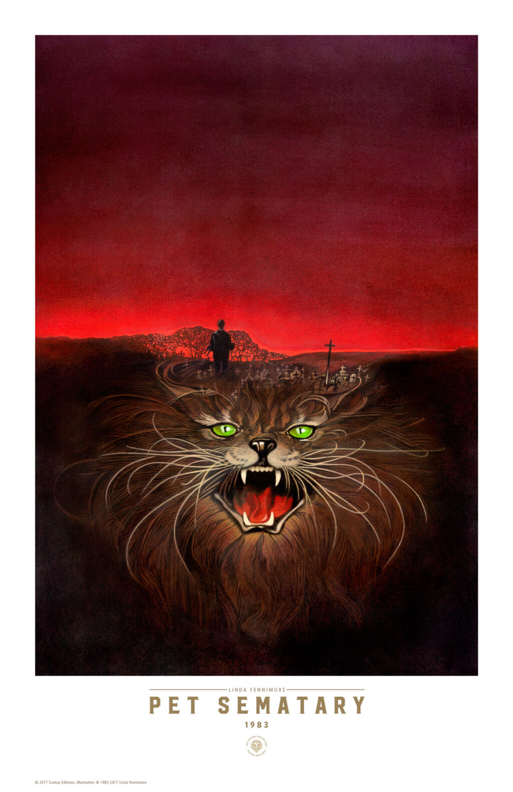 suntup pet sematary small 1024x1582 - Stephen King's Book Covers Getting Their Own Beautiful Prints