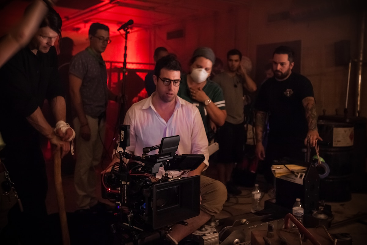 thevaultbts 1 - Interview: Cinematographer Andrew Shulkind on Shooting The Vault and The Ritual