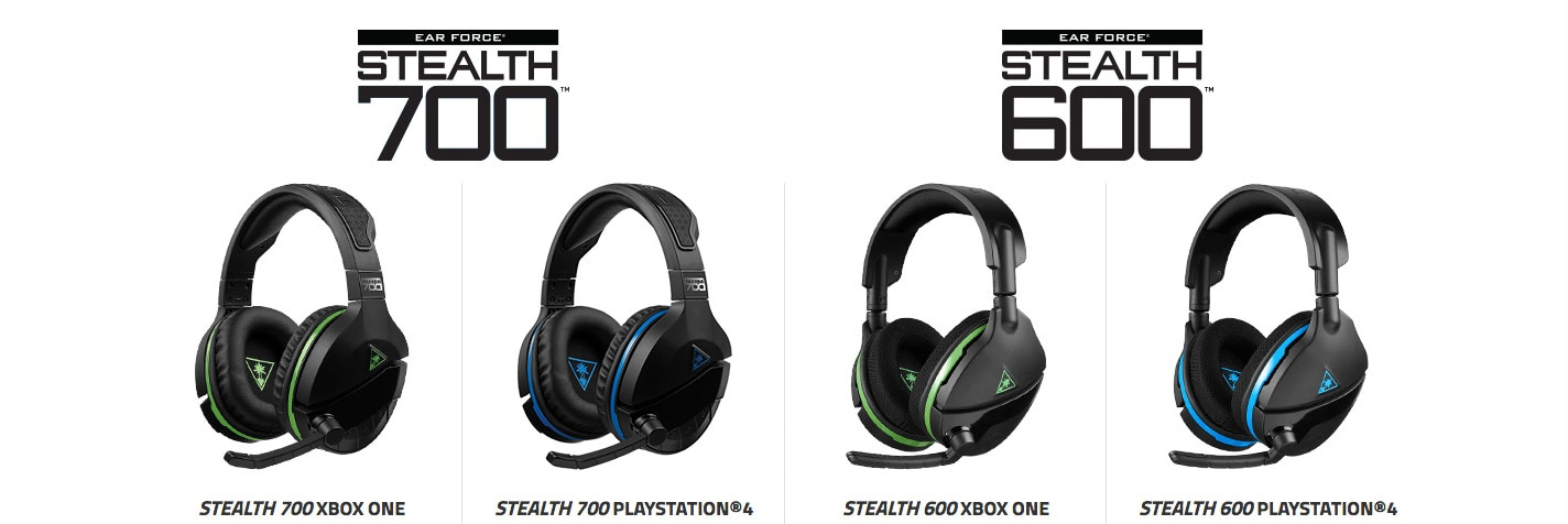 Turtle Beach Gets Stealthy With New Xbox One and PlayStation 4 Headsets |  Dread Central