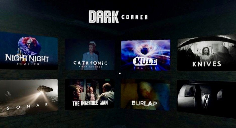 App Screenshot–Gallery6 - Dark Corner Releasing App Dedicated to Horror Narrative Content