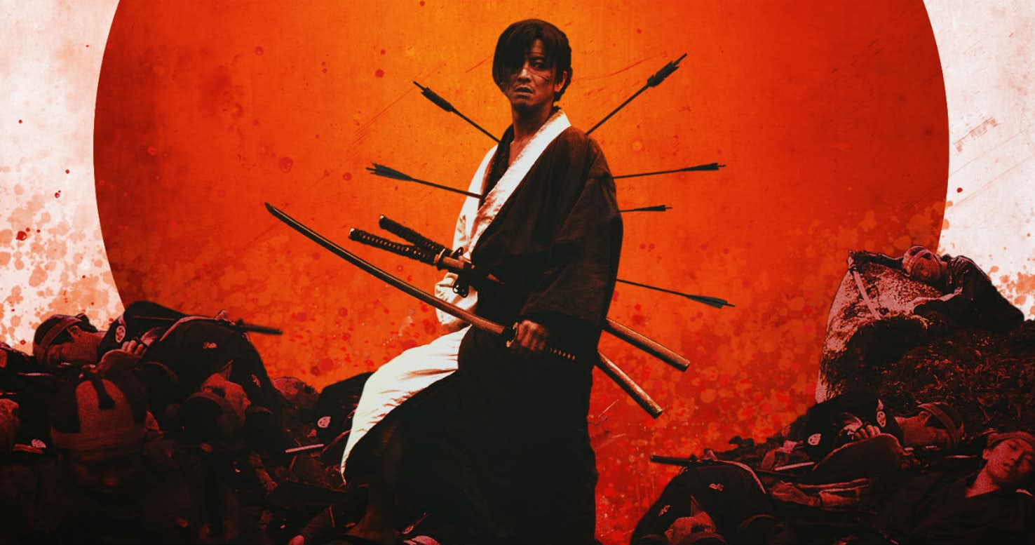 Blade of the Immortal Alternate Movie Poster 1 - Alternate Blade of the Immortal Poster Features a Human Pincushion