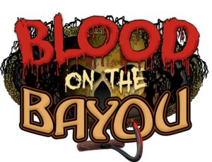 Blood on the Bayou Logo 300x229 - Dorney Park Haunt X - 2017 Review