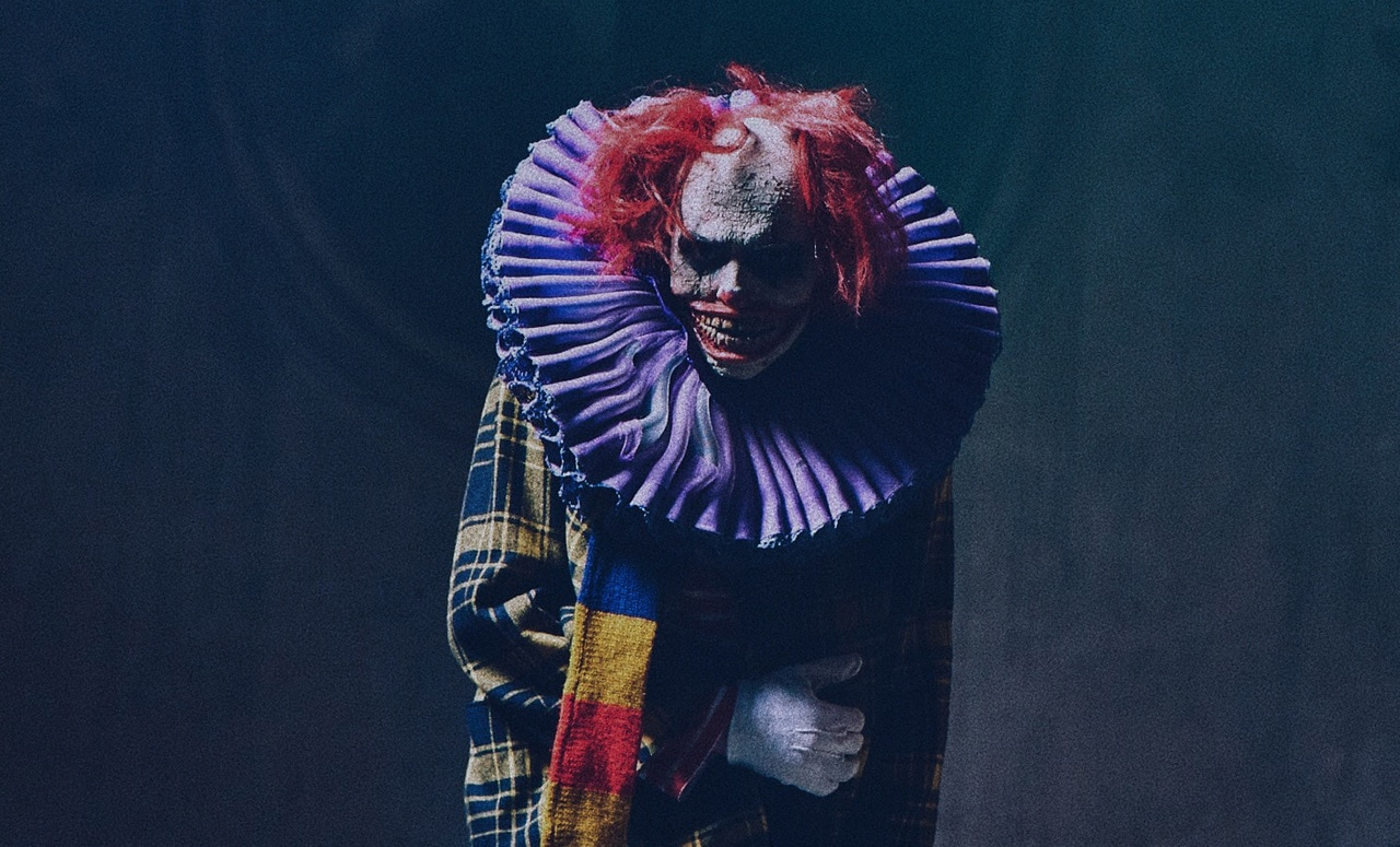 Clown ThumbnailPromo Ver1. Courtesy of Dark Corner. Photo credit Matej Tresnak - Dark Corner Releasing App Dedicated to Horror Narrative Content