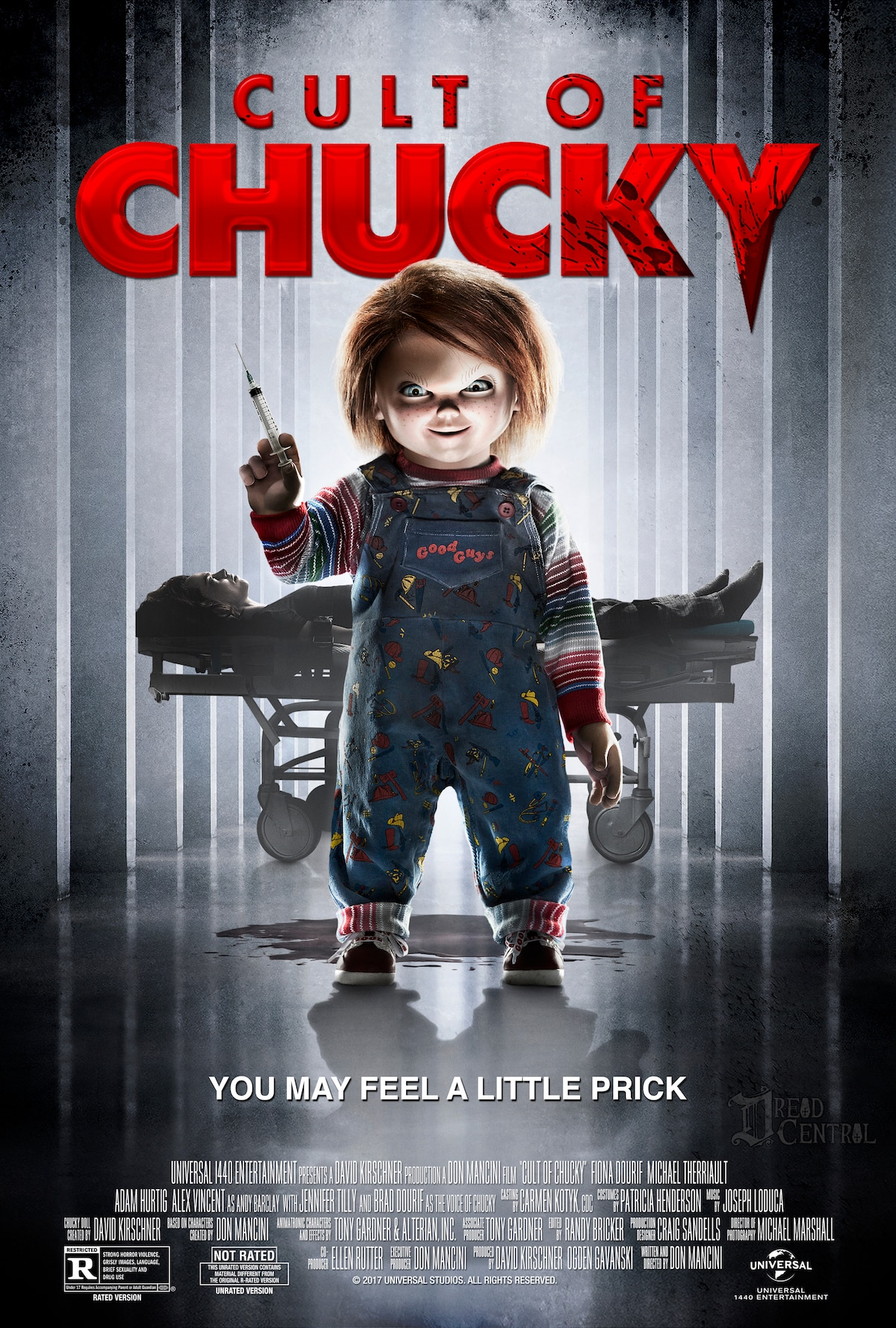 Cult of Chucky Poster theatrical2 - Don Mancini Says We'll See Glen/Glenda Again One Day in a Chucky Film