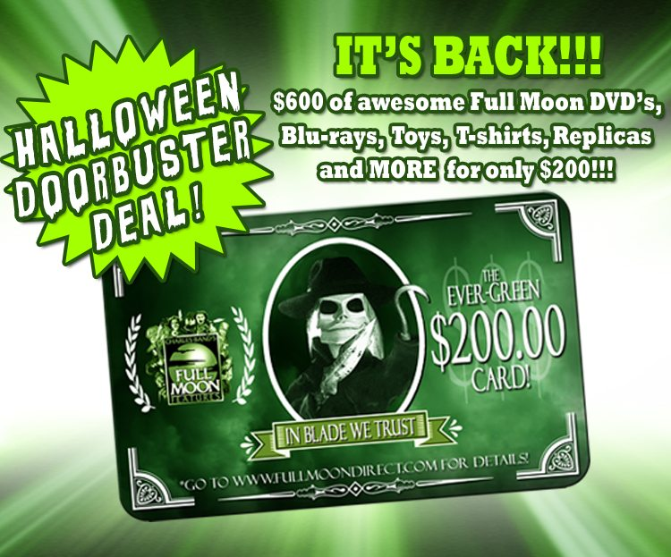 Evergreen GiftCard V3 - Full Moon Having HUGE Halloween Sale!