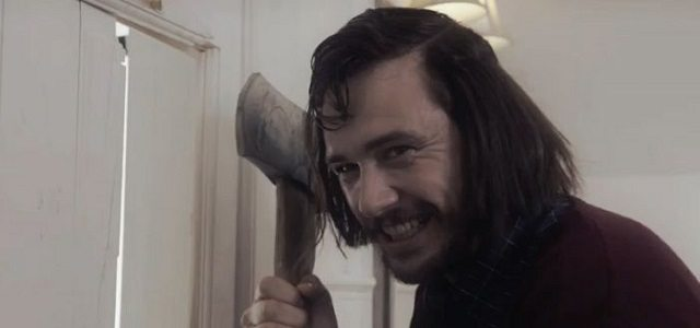 FrancoShining - Video: James Franco Scares People at Halloween Horror Nights Dressed as Jack Torrance from The Shining