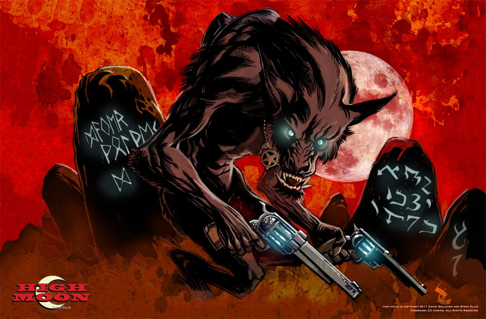 HM2.Promo .1000px - Exclusive: Preview Pages From the Werewolf Western Comic High Moon