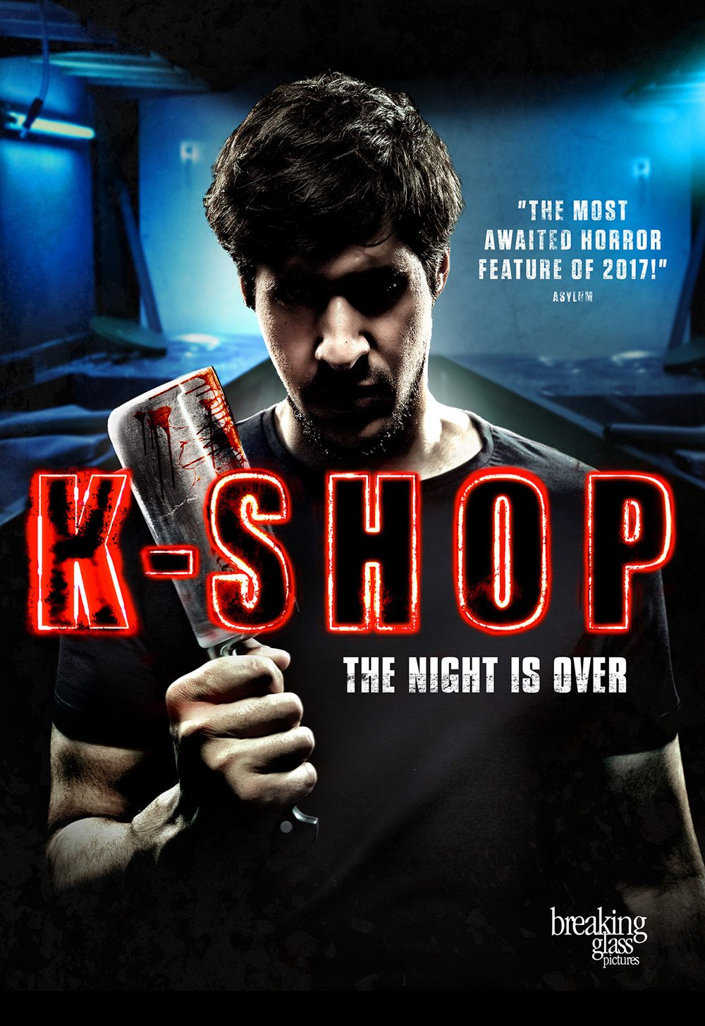K Shop Key Art - Exclusive: Breaking Glass Releasing Cannibal Horror Film K-Shop in North America; New Trailer, Stills, and More!