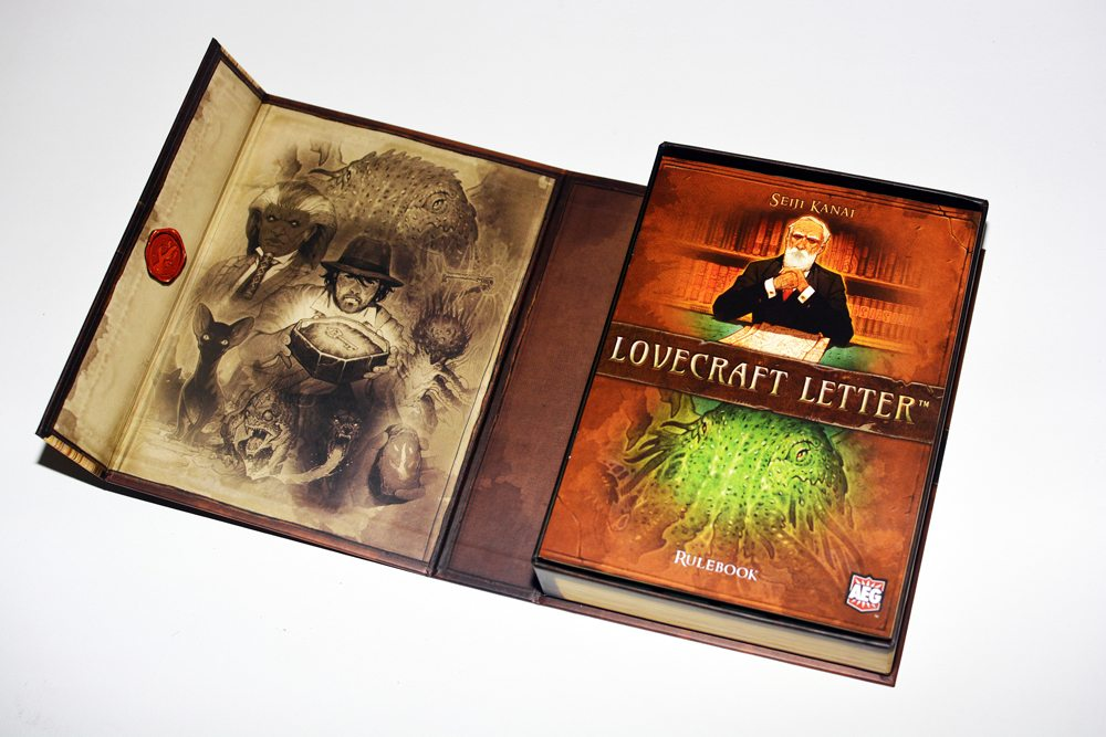 Lovecraft letter 02 Open Cover - Lovecraft Letter Card Game Overview - Last Meeple Standing
