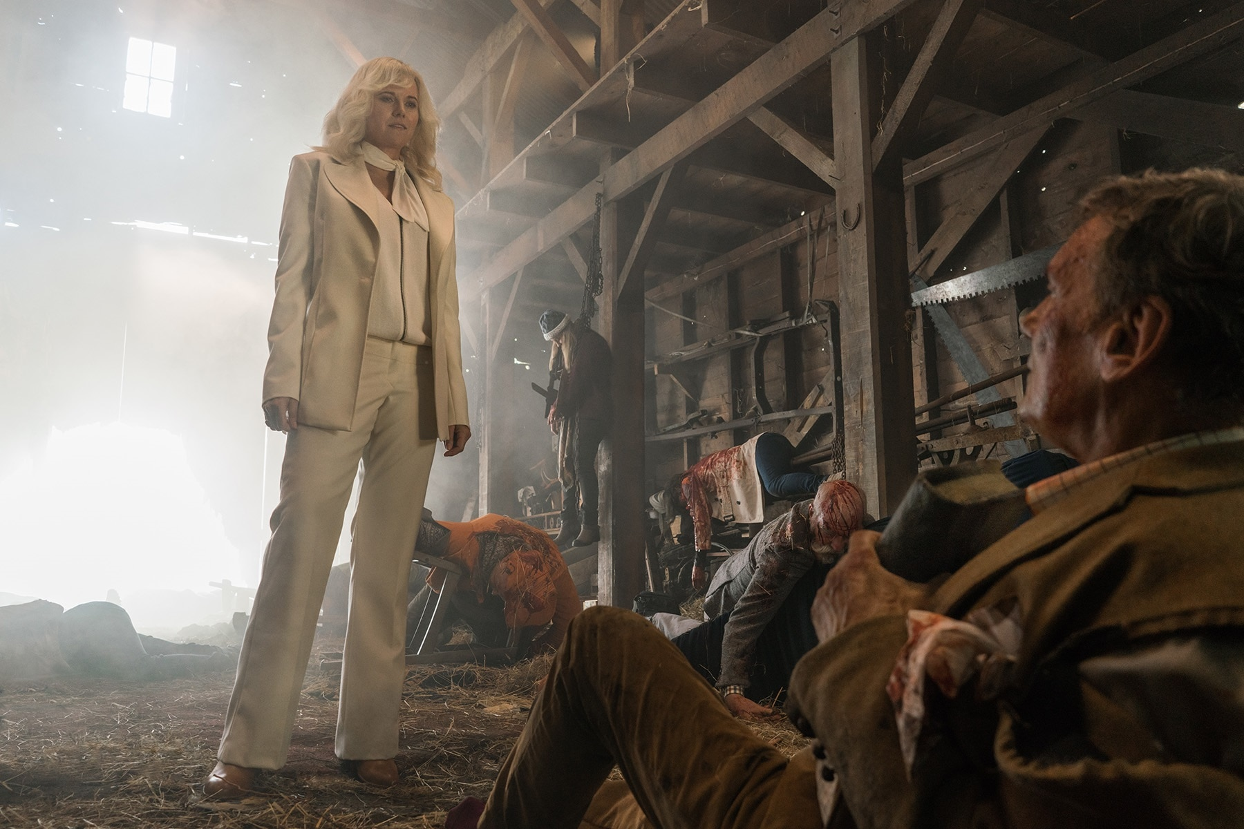 Lucy Lawless Ruby Jeffrey Thomas Stanley Ash vs Evil Dead Season 3 - Meet Ash's Daughter in First Look at Ash vs Evil Dead Season 3!